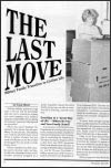 The Last Move - Military Family Transition to Civilian Life